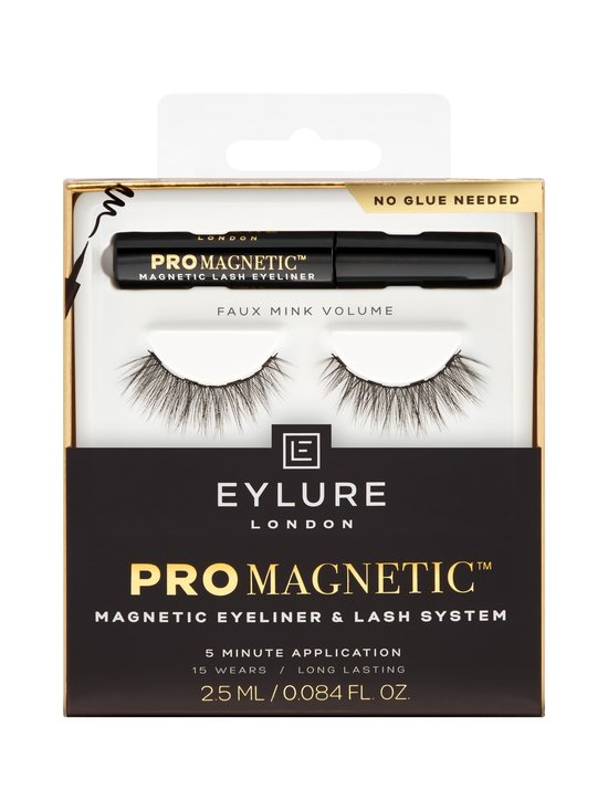 Eylure - ProMagnetic Magnetic Liner & Faux Mink Volume Lash -irtoripsipakkaus - MUSTA | Stockmann - photo 1