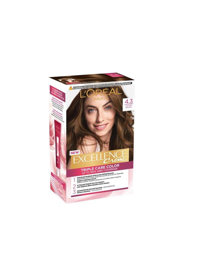 Excellence Permanent Haircolor -hiusväri