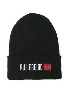 BILLEBEINO - Text Brick Beanie -villasekoitepipo - 99 BLACK | Stockmann