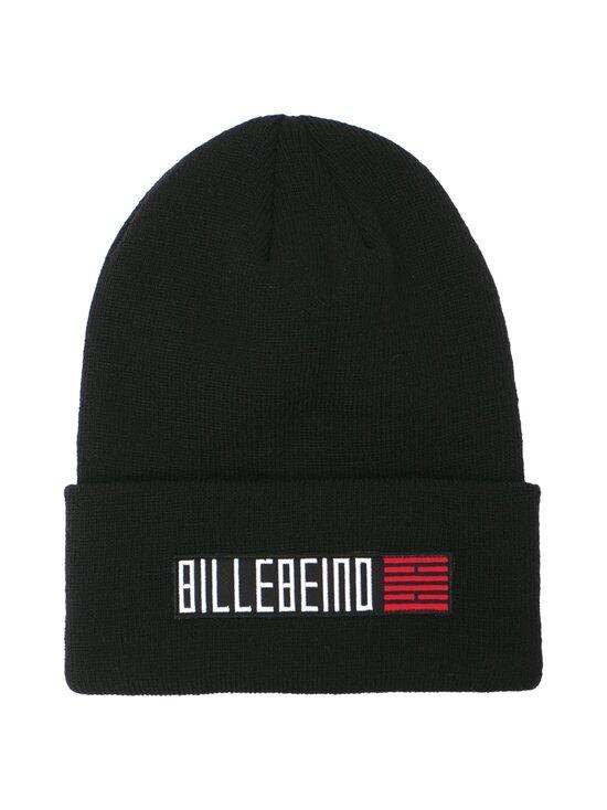 BILLEBEINO - Text Brick Beanie -villasekoitepipo - 99 BLACK | Stockmann - photo 1