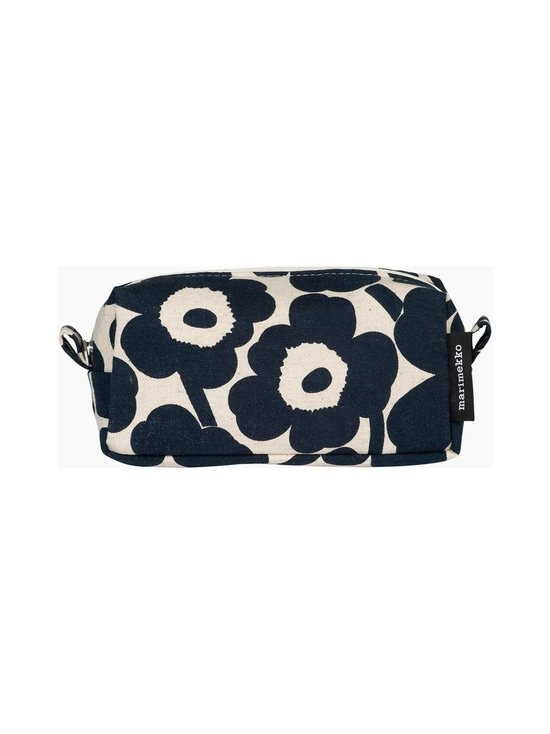 Marimekko - Tiise Mini Unikko -kosmetiikkalaukku - 851 COTTON, DARK BLUE | Stockmann - photo 1