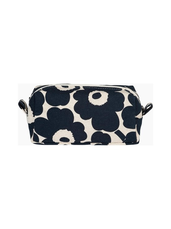 Marimekko - Tiise Mini Unikko -kosmetiikkalaukku - 851 COTTON, DARK BLUE | Stockmann - photo 2