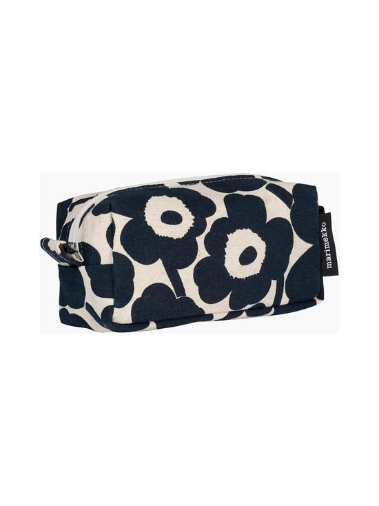 Marimekko - Tiise Mini Unikko -kosmetiikkalaukku - 851 COTTON, DARK BLUE | Stockmann - photo 3