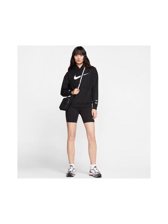 Nike - W Sportswear Swoosh Hoodie -huppari - 010 BLACK/WHITE | Stockmann - photo 8