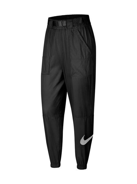 Nike - Sportswear Swoosh -housut - 010 BLACK/WHITE | Stockmann - photo 1