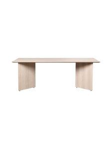 Ferm Living - Mingle-pöytälevy 210 x 90 cm - NATURAL OAK VENEER | Stockmann