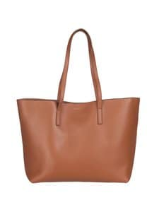 Balmuir - Estelle Shopper Bag -nahkalaukku - 480 COGNAC/GOLD | Stockmann