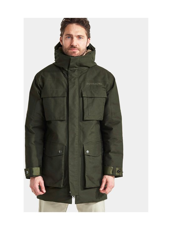 Didriksons - Delta-parka - 447 FOREST GREEN | Stockmann - photo 3