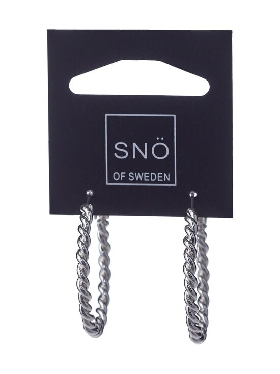 Snö Of Sweden - Way Ring -korvakorut - PLAIN S   Stockmann - photo 1
