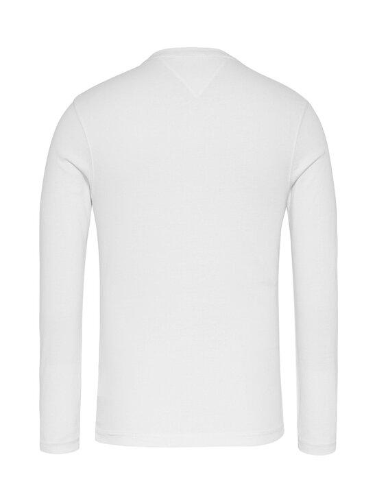Tommy Jeans - Tjm Original Rib Longsleeve Tee -paita - 100 CLASSIC WHITE   Stockmann - photo 2