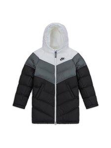 Nike - Sportswear Long Jacket -toppatakki - WHITE/SMOKE GREY/BLACK/BLACK | Stockmann