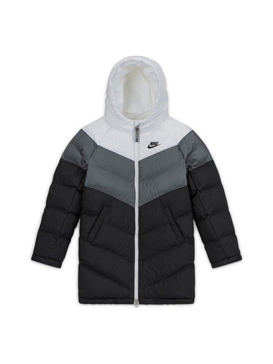 Nike - Sportswear Long Jacket -toppatakki - WHITE/SMOKE GREY/BLACK/BLACK | Stockmann - photo 1