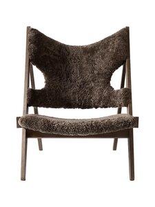 Menu - Knitting Lounge Chair -tuoli - DARK STAINED OAK, DARK BROWN | Stockmann