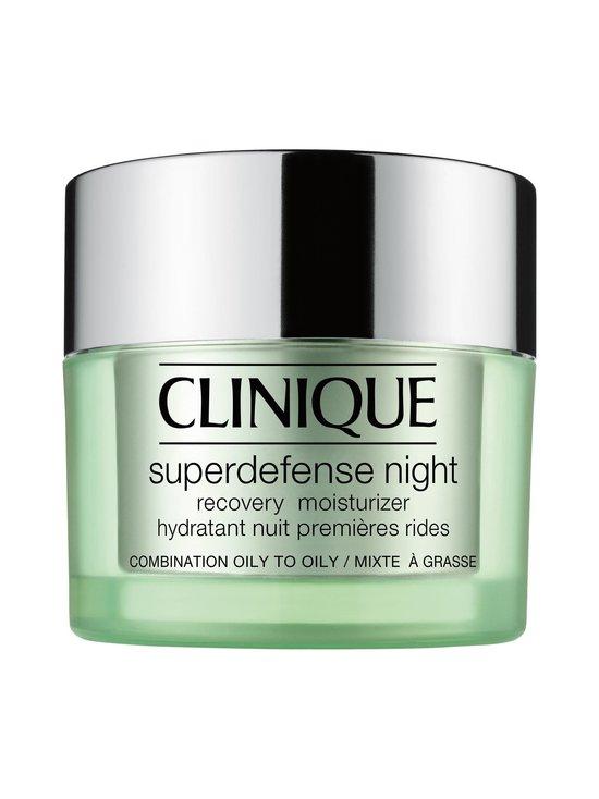 Clinique - Superdefense Night Recovery -yövoide rasvaiselle ja rasvaiselle sekaiholle 50 ml | Stockmann - photo 1