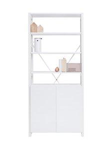 Lundia - Classic-hylly ovilla 30 x 188 x 84 cm - VALKOLAKATTU MÄNTY/PAPERI F497 | Stockmann
