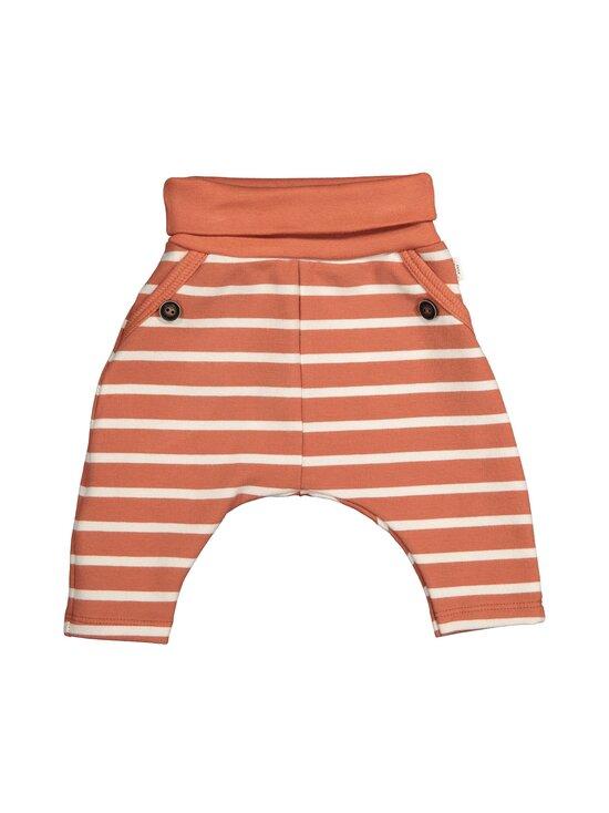 Sanetta Pure - Unisex Trousers Stripe -housut - 38119 TERRA   Stockmann - photo 1