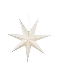 Star - Hanging Paper Star Frozen -koristevalo 100 x 100 x 21 cm - WHITE (VALKOINEN)   Stockmann