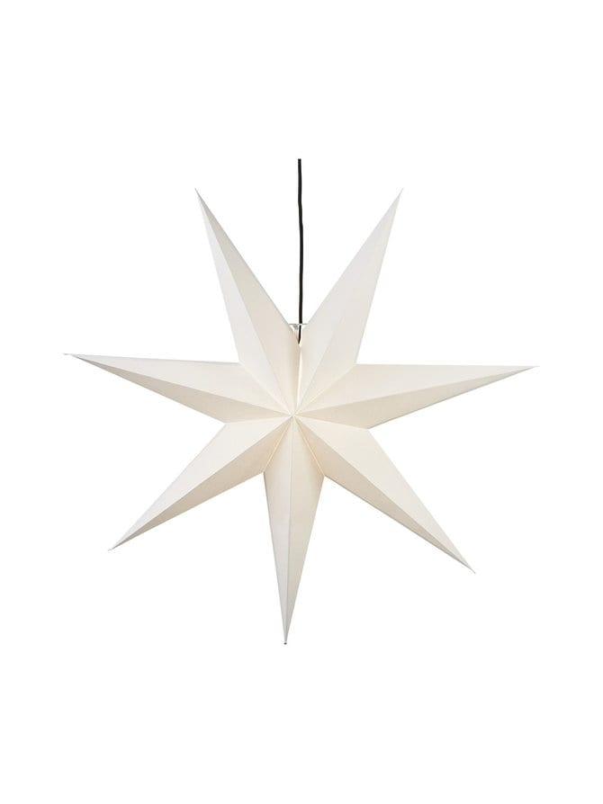 Hanging Paper Star Frozen -koristevalo 100 x 100 x 21 cm