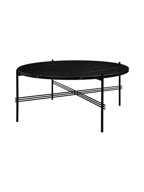 Gubi - TS Coffee Table -sohvapöytä ⌀ 80 cm - BLACK MARQUINA MARBLE | Stockmann - photo 1