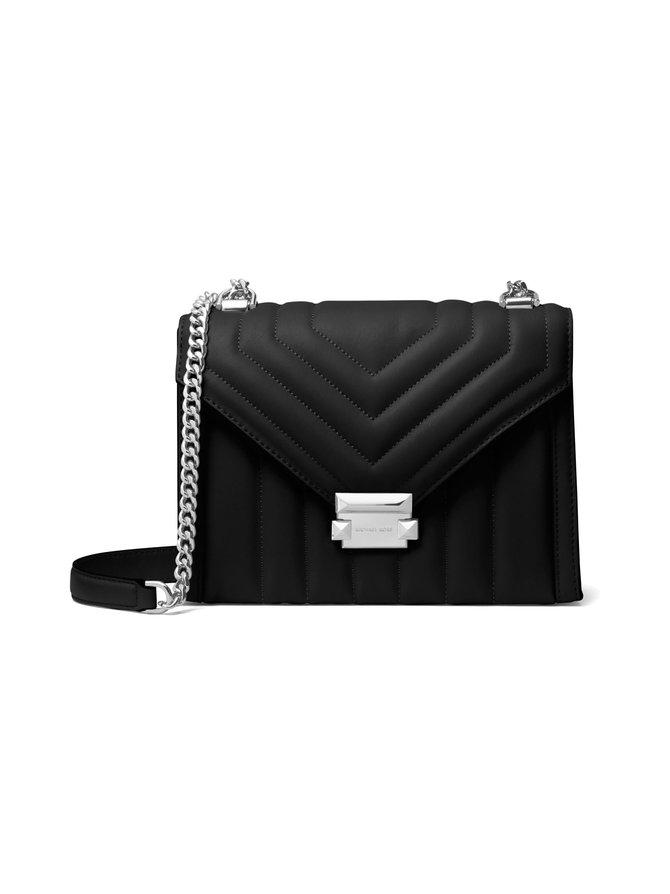 Whitney Large Quilted Leather Convertible Shoulder Bag -nahkalaukku