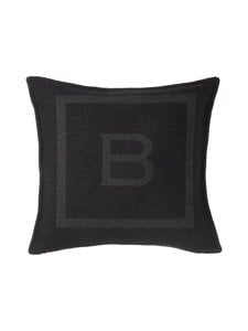 Balmuir - B-logo-tyynynpäällinen 50 x 50 cm - GREY/BLACK (TUMMANHARMAA/MUSTA) | Stockmann