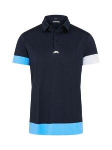 J.Lindeberg - Per Regular Fit Golf Polo -pikeepaita - 6855 JL NAVY | Stockmann