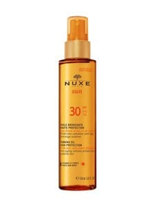 Nuxe - Tanning Oil for Face and Body SPF 30 -kuivaöljysuihke 150 ml - null | Stockmann