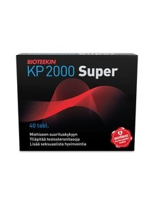 Bioteekki - KP 2000 Super -ravintolisä 40 tabl./31 g | Stockmann