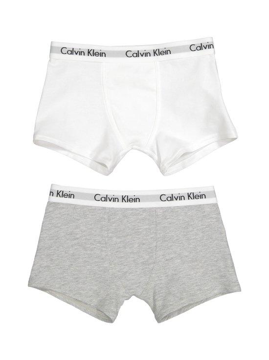 Calvin Klein Kids - Modern Cotton -bokserit 2-pack - WHITE/GREY HEATHER | Stockmann - photo 1
