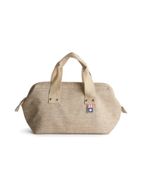 Small Linen Cooler Bag -kylmälaukku