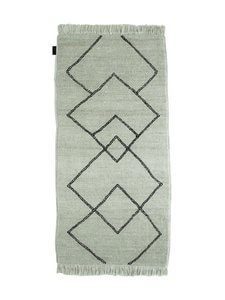 Sera Helsinki - Kide-villamatto 100 x 200 cm - BLACK/NATURAL WHITE (MUSTA/LUONNONVALKOINEN) | Stockmann