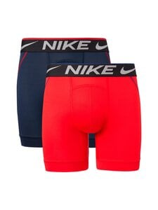 Nike - Boxer Brief -bokserit 2-pack - 9V8 UNIVERSITY RED/OBSIDIAN | Stockmann
