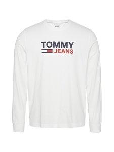 Tommy Jeans - Tjm Longsleeve Corp Logo Tee -paita - YBR WHITE | Stockmann