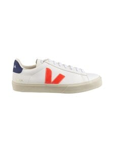 VEJA - Campo-nahkatennarit - EXTRA-WHITE-ORANGE-FLUO COBALT | Stockmann