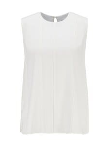 BOSS - Iesana-silkkipusero - 112 OPEN WHITE | Stockmann