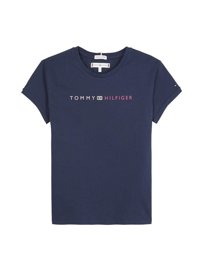 Essential Tommy Roll Up Tee -paita