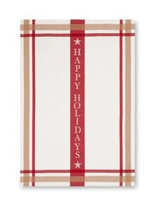 Lexington - Holiday-keittiöpyyhe 50 x 70 cm - WHITE/RED | Stockmann