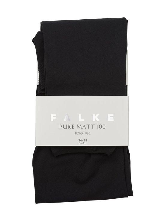 Falke - Pure Matt 100 den -leggingsit - MUSTA | Stockmann - photo 1
