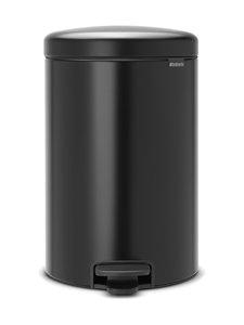 Brabantia - NewIcon-poljinroskakori 20 l - MATT BLACK (MUSTA) | Stockmann