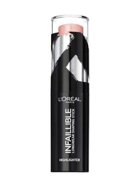 L'Oréal Paris - Infaillible Longwear Shaping Highlighter Stick -korostuspuikko 9 g - null   Stockmann - photo 1