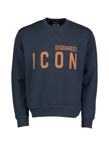 Dsquared - Icon Crewneck Sweatshirt -collegepaita - 478 NAVY BLUE | Stockmann