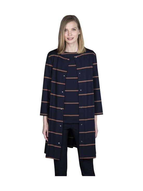 Ritva Falla - Caserta-jakku - 005S NAVY STRIPE | Stockmann - photo 1