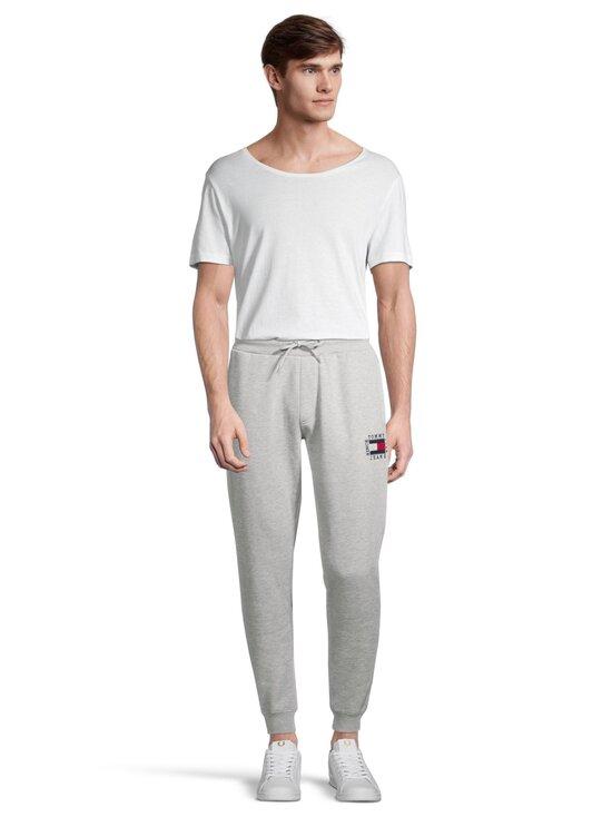 Tommy Jeans - Tjm Slim Box Flag Sweat Pant -collegehousut - P01 LIGHT GREY HEATHER | Stockmann - photo 2
