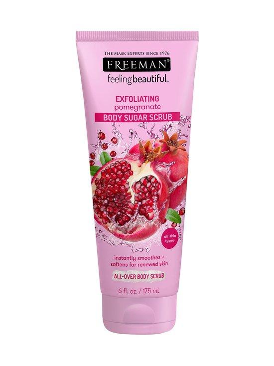 Freeman - Exfoliating Pomegranate Body Sugar Scrub -vartalokuorinta 150 ml   Stockmann - photo 1