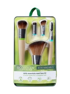 Eco Tools - Daily Essentials Total Face Kit, Interchangeable Collection -vaihtopääsivellinsetti - null | Stockmann