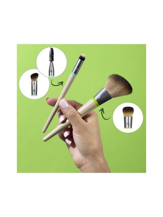 Eco Tools - Daily Essentials Total Face Kit, Interchangeable Collection -vaihtopääsivellinsetti - NOCOL | Stockmann - photo 3