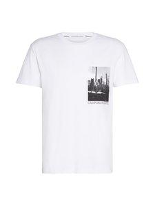 Calvin Klein Jeans - New York Photo Print T-Shirt -paita - YAF BRIGHT WHITE | Stockmann