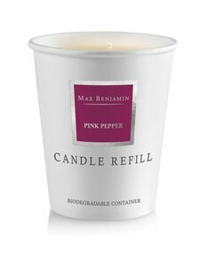 Max Benjamin - Pink Pepper -tuoksukynttilän täyttöpakkaus 190 g - BURGUNDY | Stockmann