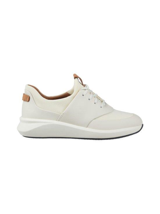 Clarks - Un Rio Lace -nahkasneakerit - WHITE   Stockmann - photo 1