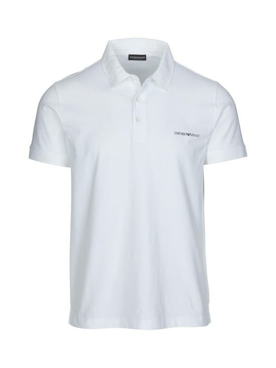 Emporio Armani - Polo Sleeve -pikeepaita - 00010 WHITE | Stockmann - photo 1